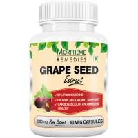 Morpheme Grape Seed Extract 500mg Extract - 60 Veg Caps.