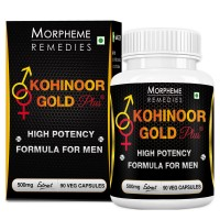 Morpheme Kohinoor Gold Plus 500mg Extract - 90 Veg Caps.