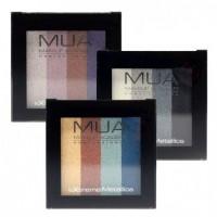 MUA Extreme Metallic Quad Eyeshadows