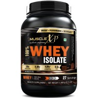 MuscleXP 100% Whey Isolate, Double Rich Chocolate - The New Whey Standards - 1Kg (2.2 lbs)
