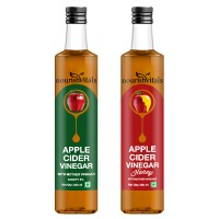 Nourish Vitals Apple Cider Vinegar + Apple Cider Vinegar With Honey