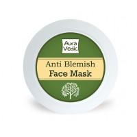AuraVedic Anti Blemish Face Mask with Neem Tea Tree Basil