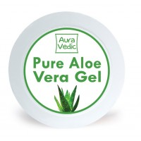 AuraVedic Pure Aloe Vera Gel with Aloe Green Tea