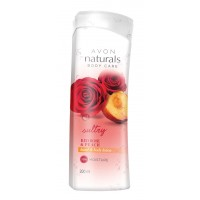 Avon Naturals Red Rose Peach Hand & Body Lotion