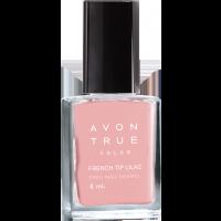 Avon True Color Pro+ Nail Enamel - French Tip Lilac