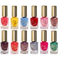 Blue Heaven Combo Of 12 Xpression Nail Paint (905, 907, 913, 928, 931, 964, 972, 987, 991, 993, 995 & 1000)