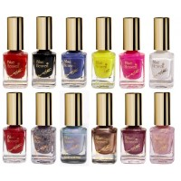 Blue Heaven Combo Of 12 Xpression Nail Paint (901, 902, 908, 919, 923, 945, 963, 986, 996, 997, 998 & 999)