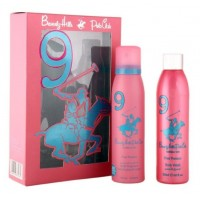 Beverly Hills Polo Club Women's Deodorant And Shower Gel No.9 Gift Set