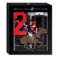 Beverly Hills Polo Club Men's Deodorant And Shower Gel No.2 Gift Set