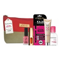 Nykaa Day Time Glam Red Pouch - Neutral