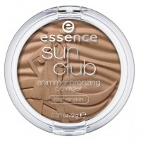 Essence Sun Club Shimmer Bronzing Powder - Darker Skin