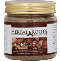 Herbal Roots Skin care 100% Natural Beauty Product - Almond Face And Body Scrub