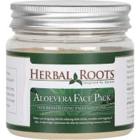 Herbal Roots Skin Care 100% Natural Beauty Product - Aloe Vera Face Pack