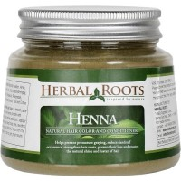 Herbal Roots Herbal Henna Powder - Natural Hair Color And Conditioner