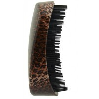 HairTronic Super Super Shaped Detangler - Leopard Print