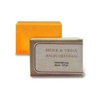 Herb & Veda Haldi Chandan Handmade Soap