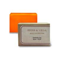 Herb & Veda Malai Kesar Handmade Soap