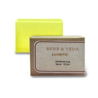 Herb & Veda Jasmine Handmade Soap