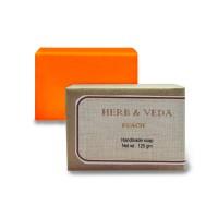 Herb & Veda Peach Handmade Soap