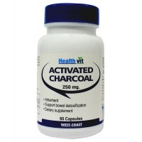 Healthvit Activated Charcoal - 60 Capsules