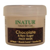 Inatur Chocolate & Raw Sugar Face Mask