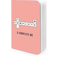 DailyObjects U Complete Me A5 Notebook