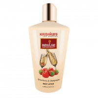 Krishkare Strawberry And Champagne Body Lotion