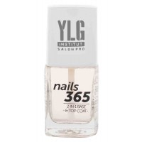 YLG Nails365 2 In 1 Base & Top Coat