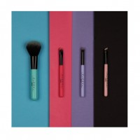 Lottie London Tools on Tour - 4 Piece Mini Brush set (Multicolour)
