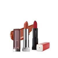 Buy Maybelline New York Color Sensational Creamy Matte Lipstick - Touch Of Spice & Get Color Sensational Lipstick Free