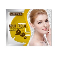 Mond'Sub Gold Facial Mask (Pack of 10)