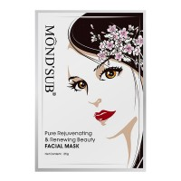 Mond'Sub Pure Rejuvenating & Renewing Beauty Facial Mask (Pack Of 6)