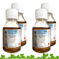Morpheme Remedies Arthcare Oil for Joints Pain Relief, Back Pain, Arthritis (Pack of 4)