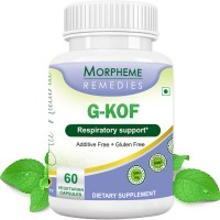 Morpheme Remediess G-Kof Capsules for Respiratory Support - 500mg Extract