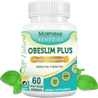 Morpheme Remedies Obeslim Plus for Weight Loss - 500mg Extract