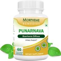 Morpheme Remedies Punarnava (Boerhavia Diffusa) For Urinary Support - 500mg Extract