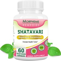 Morpheme Remedies Shatavari (Asparagus Racemous) - Female Health Tonic - 500mg Extract