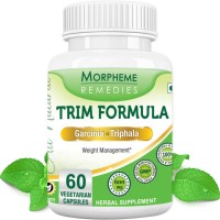 Morpheme Remedies Trim Formula - Garcinia & Triphala For Weight Loss - 600mg Extract