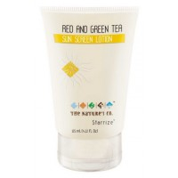 The Nature's Co. Red and Green Tea Sunscreen Lotion
