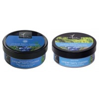 Natural Bath & Body Juniper Berry Cypress Dead Sea Salt Scrub And Juniper Berry And Cypress Body Butter Combo