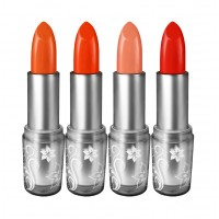 Organistick Lipstick Combo Pack: Madona Red, Orange Red, Rusty Orange and Nude