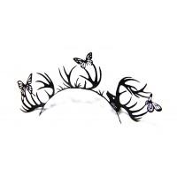 Paperself Designer Eyelashes Deer & Butterfly - Black
