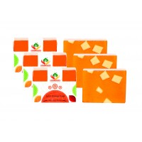 Satveda Juicy Orange Soap Pack Of 3