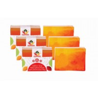 Satveda Saffron Soap Pack Of 3