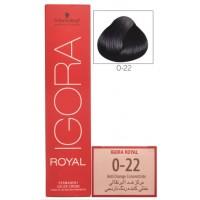 Schwarzkopf Igora Royal 0-22 Anti Orange Concentrate Hair Color