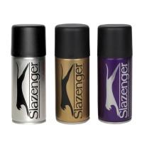 Slazenger Men's Deodorant Sprays Set Of 3 - Advance, Sprint & Classic
