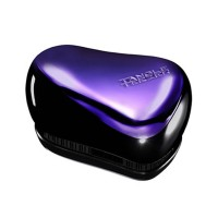 Tangle Teezer Compact Styler Detangling Brush-Purple/Black