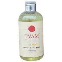 TVAM Almond Sandal For Dry Skin Face Wash