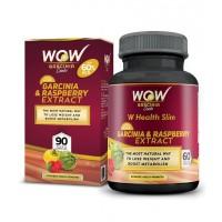 Wow Garcinia & Raspberry Combo 60% Hca- 800 Mg (60 Capsules)