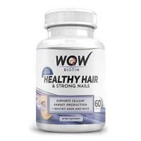 Wow Biotin Healthy Hair & Strong Nails (60 Capsules)
